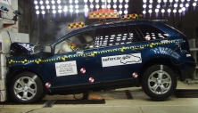 NCAP 2012 Ford Edge front crash test photo