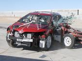 NCAP 2012 Toyota Venza side crash test photo