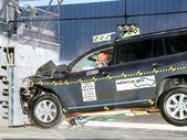 2012 Toyota Highlander SUV FWD after frontal crash test