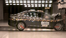 NCAP 2012 Ford Fusion Hybrid front crash test photo