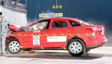 NCAP 2012 Ford Focus front crash test photo