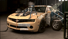 2012 Chevrolet Camaro 2 DR RWD after side crash test