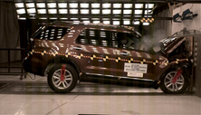 NCAP 2012 Ford Explorer front crash test photo