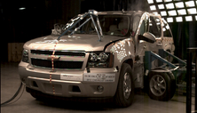 NCAP 2012 Chevrolet Suburban side crash test photo