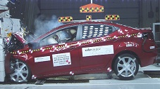 NCAP 2012 Hyundai Elantra front crash test photo