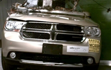 NCAP 2012 Dodge Durango side pole crash test photo
