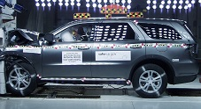 NCAP 2012 Dodge Durango front crash test photo