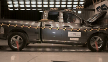 NCAP 2012 Ram 1500 front crash test photo