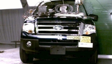 NCAP 2012 Ford Expedition side pole crash test photo