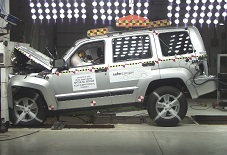 NCAP 2012 Jeep Liberty front crash test photo