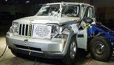 NCAP 2012 Jeep Liberty side crash test photo
