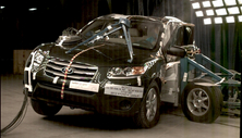 NCAP 2012 Hyundai Santa Fe side crash test photo