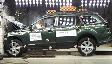2012 Subaru Outback SUV AWD after frontal crash test