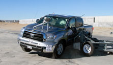 NCAP 2012 Toyota Tundra side crash test photo