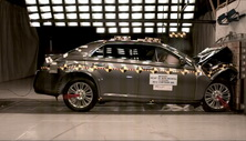 NCAP 2012 Chrysler 300 front crash test photo