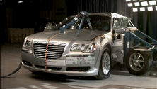 NCAP 2012 Chrysler 300 side crash test photo