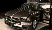 NCAP 2012 Dodge Charger side pole crash test photo