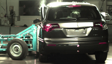 2012 Acura MDX SUV 4WD after side crash test
