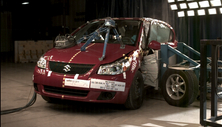 NCAP 2012 Suzuki SX4 side crash test photo