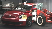 NCAP 2012 Volkswagen Beetle side crash test photo