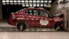 NCAP 2012 Suzuki SX4 front crash test photo