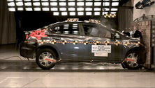 NCAP 2012 Honda Civic Hybrid front crash test photo