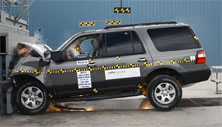 NCAP 2012 Ford Expedition front crash test photo