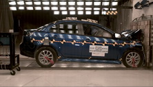 NCAP 2012 Mitsubishi Lancer front crash test photo