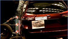 NCAP 2013 Toyota Sienna side crash test photo