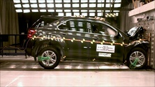 NCAP 2013 Chevrolet Equinox front crash test photo
