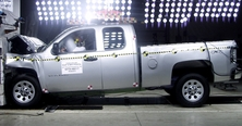 NCAP 2013 Chevrolet Silverado 1500 front crash test photo