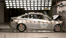 NCAP 2013 Hyundai Sonata front crash test photo