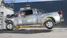 NCAP 2013 Toyota Tundra front crash test photo