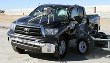 NCAP 2013 Toyota Tundra side crash test photo