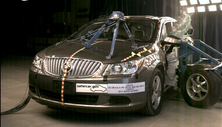 NCAP 2013 Buick LaCrosse side crash test photo