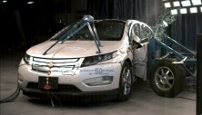 NCAP 2013 Chevrolet Volt side crash test photo