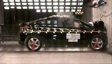 NCAP 2013 Chevrolet Volt front crash test photo