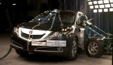 NCAP 2013 Acura ZDX side crash test photo