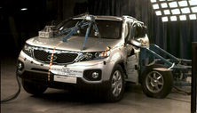 2013 Kia Sorento SUV FWD after side crash test