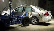NCAP 2013 Chevrolet Impala side crash test photo