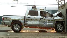 NCAP 2013 Toyota Tacoma front crash test photo