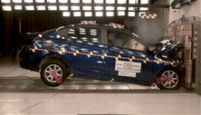 NCAP 2013 Hyundai Accent front crash test photo