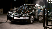 NCAP 2013 Nissan Maxima side crash test photo