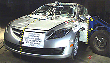 NCAP 2013 Mazda MAZDA6 side crash test photo