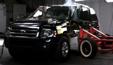 NCAP 2013 Ford Expedition side crash test photo