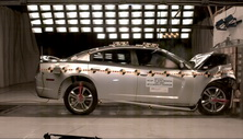 NCAP 2013 Dodge Charger front crash test photo