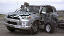 NCAP 2013 Toyota 4Runner side crash test photo