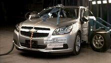 NCAP 2013 Chevrolet Malibu side crash test photo