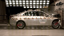 NCAP 2013 Chevrolet Malibu front crash test photo