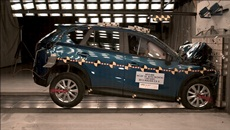 2013 Mazda CX-5 SUV AWD after frontal crash test